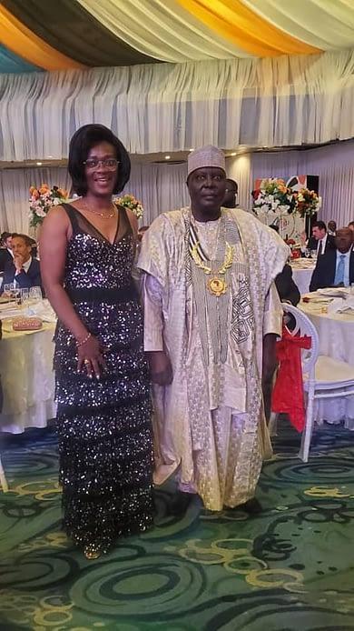 Le Président du CNOSC et Madame la Vice-Président du CNOSC, Membre du CIO