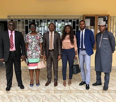 The British High Commission visits the CGA CAMEROON