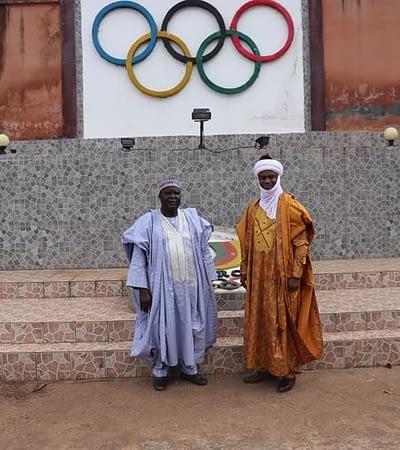 The new Lamido of Garoua visits the CNOSC
