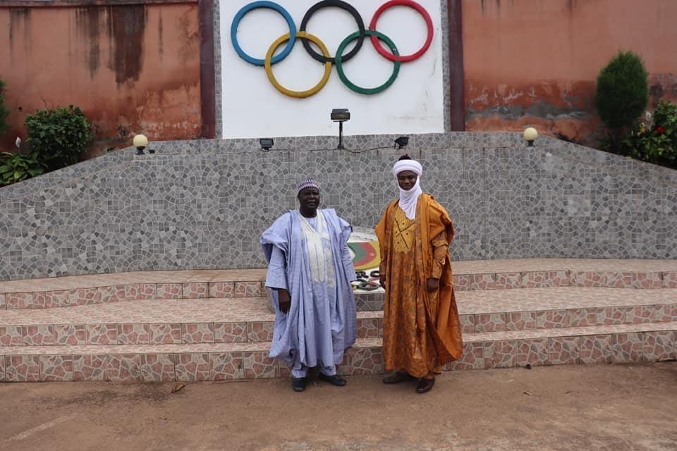 The CNOSC President and the Lamido of Garoua